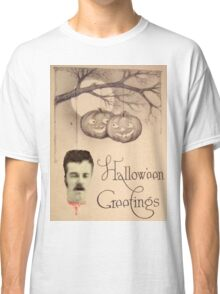 Just Hanging Around (Vintage Halloween Card) Classic T-Shirt