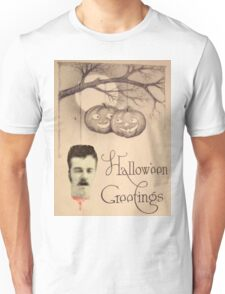 Just Hanging Around (Vintage Halloween Card) Unisex T-Shirt