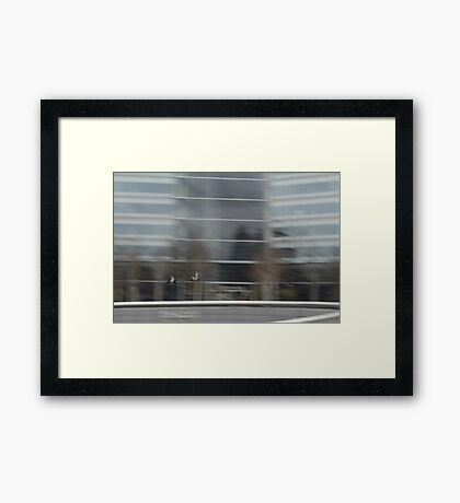 Catching the Londoners  Framed Print