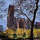 Rockefeller Chapel, University of Chicago by James Watkins
