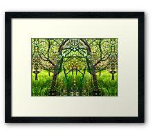 Fairy Arbor Framed Print