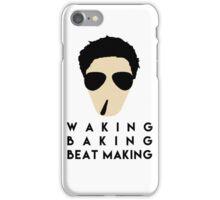 Waking Baking Beat-Making iPhone Case/Skin