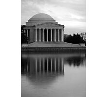 The Jefferson Memorial Photographic Print