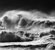 Winter Waves At Pipeline by Alex Preiss