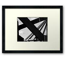 Crossover Framed Print