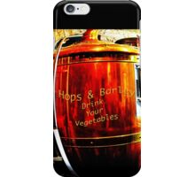 Hops & Barley- Drink Your Vegetables iPhone Case/Skin
