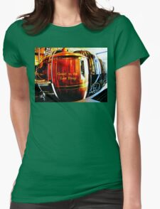 Good to the Last Drop Womens Fitted T-Shirt