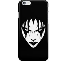 leave me alone (alternate white version) iPhone Case/Skin