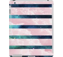 Pink cloud and Galaxy Aesthetic iPad Case/Skin