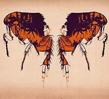Back To Back Fleas by Matti Harrod