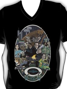 The Men in Back Movie style poster T-Shirt