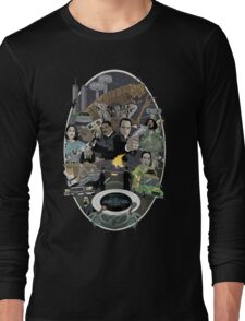 The Men in Back Movie style poster Long Sleeve T-Shirt