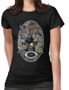 The Men in Back Movie style poster Womens Fitted T-Shirt