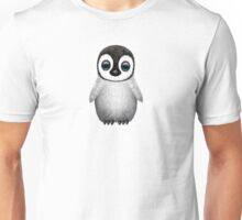 Cute Baby Penguin on Pink Unisex T-Shirt