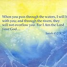 High Waves- Isaiah 43:2&3 by Diane Hall