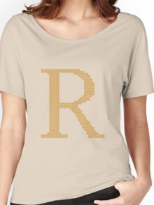 Weasley Sweater Letter R Women's Relaxed Fit T-Shirt