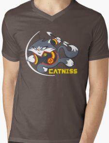 Catniss Mens V-Neck T-Shirt