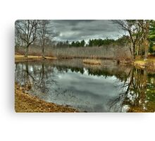 On the Stillwater River  Canvas Print