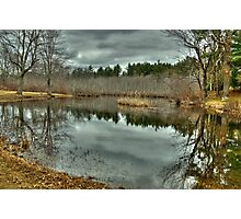 On the Stillwater River  Photographic Print