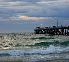 Grange Beach, Adelaide, South Australia by Cherie Vivar