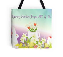 Happy Easter From All of Us Tote Bag