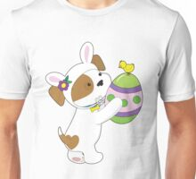 Cute Puppy Easter Egg Unisex T-Shirt