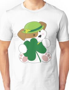 Cute Puppy St Pats Unisex T-Shirt