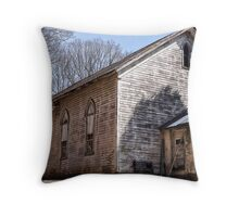 This congregation doesn't meet here anymore Throw Pillow