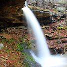 Springtime Waterfalls by David  Hughes