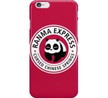 Ranma Express iPhone Case/Skin