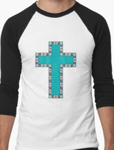 Easter Cross Men's Baseball ¾ T-Shirt