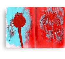 Poppy Seeds Canvas Print