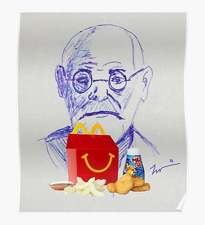 Freud & The Happy Meal Poster
