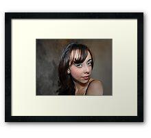 """ Micki "" Framed Print"