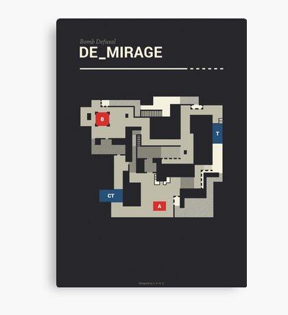 Counter-Strike de_mirage Canvas Print