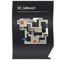 Counter-Strike de_mirage Poster