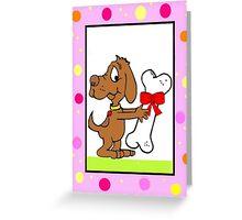 Pet Dog's Birthday Greeting Card