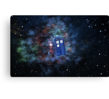 Star-y Space  Canvas Print