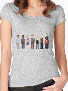 Community Cast Women's Fitted Scoop T-Shirt