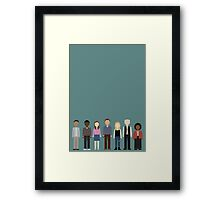 Community Cast Framed Print