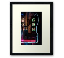Gem Theatre, Kansas City, MO Framed Print