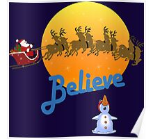 Christmas - Believe in Santa Claus Poster