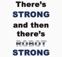 Robot Strong One Piece - Short Sleeve