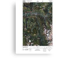 USGS Topo Map Washington State WA Scenic 20110428 TM Canvas Print