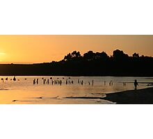 Mill Bay Sunset  Strahan Photographic Print