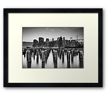 City Zen Framed Print