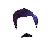 Ron Swanson Galaxy by kamalaklique
