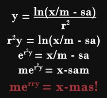 Math Merry Christmas by GhostMind