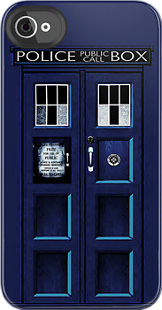 Tardis doctor who - 11th Doctor - iphone 4 4s, iPhone 3Gs, iPod Touch 4g case by Pointsale store