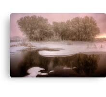 Winterset Canvas Print